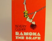 1975 Ramona the Brave- Vintage Children's Book