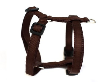 Harness Adjustable in Chocolate