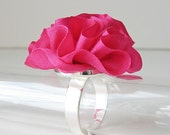 Hot Pink Ring Neon color