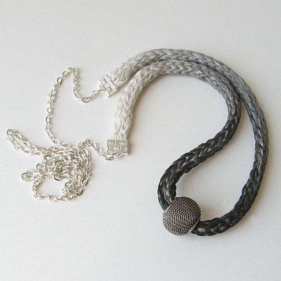 Black Ombre Necklace
