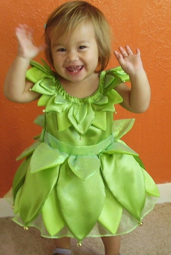 Items Similar Green Fairy Dress Toddler Sizes Etsy
