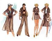 Shirt pants shorts skirt sewing pattern Vogue 9483 Size 12