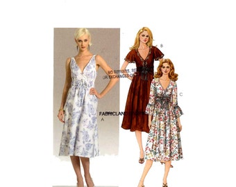 Laura Ashley dress sewing pattern McCalls M5316 Bust 36 to 42