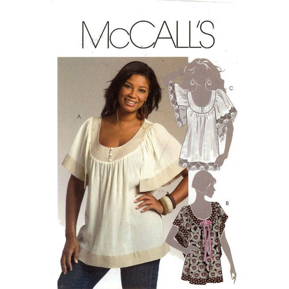 Mccalls Patterns Peasant Blouse 83