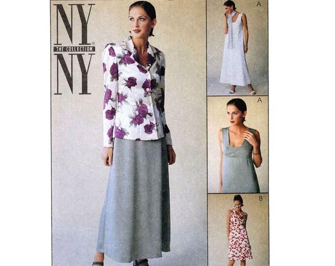 NY jacket dress Sewing pattern McCalls 9264 SZ 6 to 10 Uncut