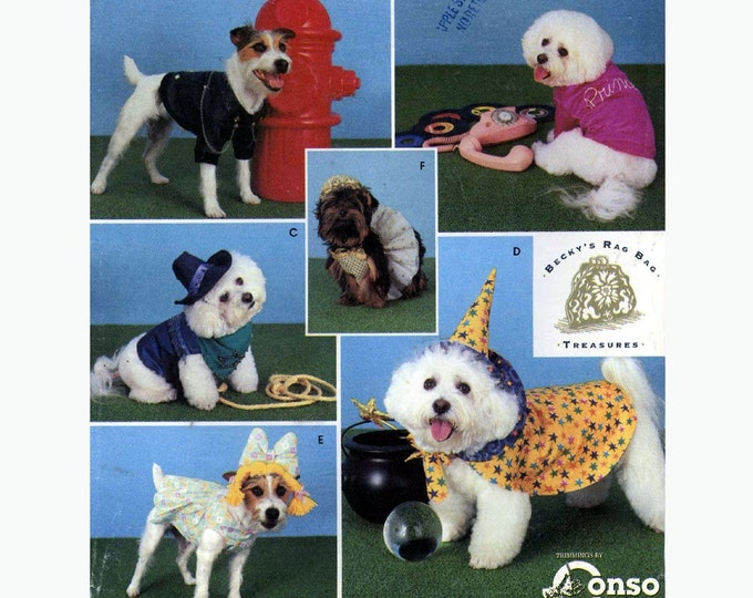 Party dog costumes Thanksgiving Princess coats Simplicity 9884  Halloween costume sewing pattern