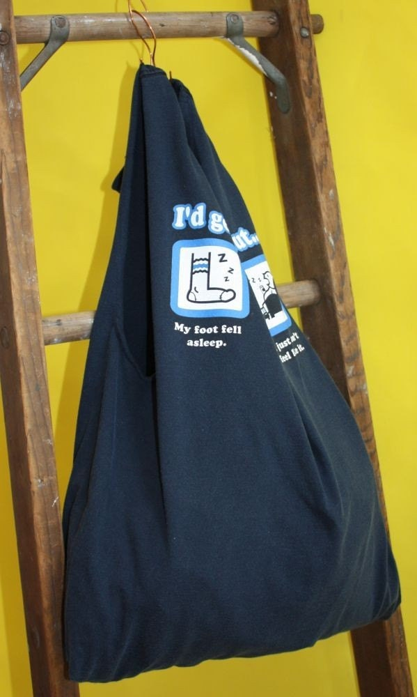 Eco friendly reusable t shirt bags and more by for Reusable t shirt bags