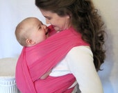 LAST ONE - Honeysuckle - Woven Baby Wrap - Airy Cotton Gauze - includes DVD - wide shop selection