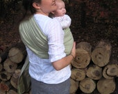 Ring Sling Baby Carrier - Linen and Dupioni Silk Trio - DVD included