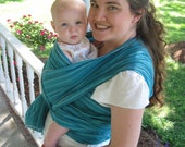 Baby Sling Woven Baby Wrap Carrier - Med Weight Cotton Gauze - 2 Colorway options still in stock - 5, 6, or 7 yard options