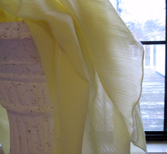Lemon - Airy OVERSIZED Cotton Gauze Receiving Blanket for Lightweight Swaddling - ships free with sling or wrap