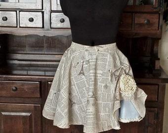Three Layer Audrey Circle Skirt