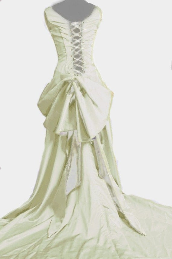 Smoldering Temptress Satine Moulin Inspired Wedding Gown - Custom Size