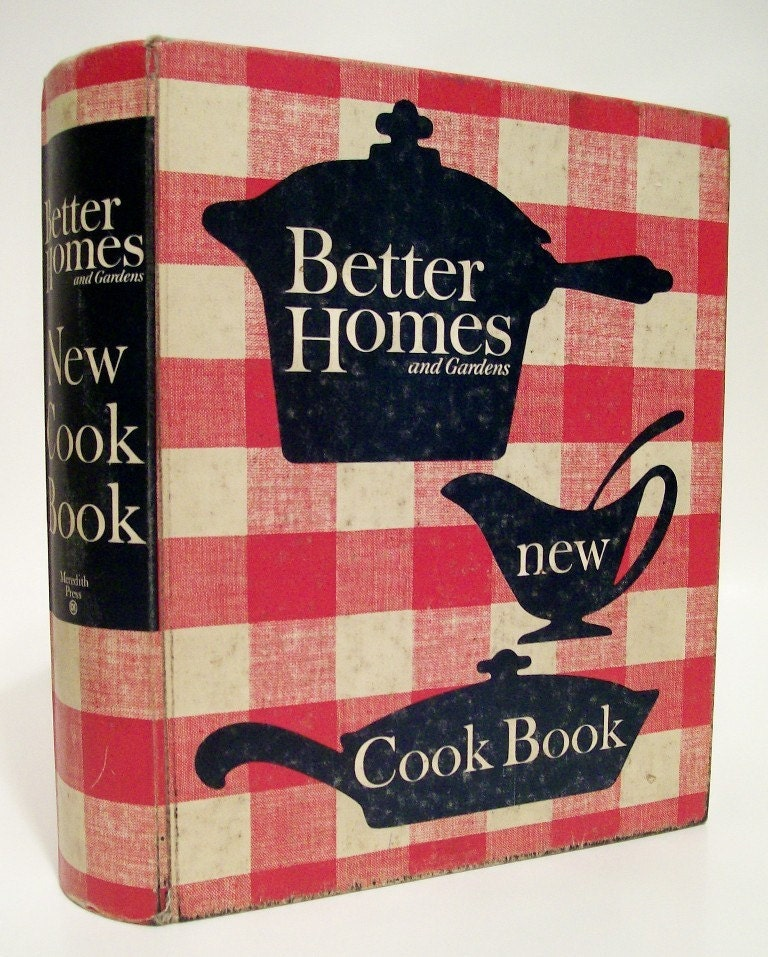 Vintage Better Homes And Gardens New Cookbook 1965