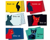 Placemats for cats and people