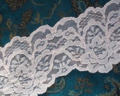 Sweet Sixteen Pink 5 inch wide flat lace