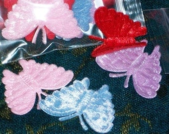 Butterflies Are Almost Free Velvet And Plush Felt Embossed Butter Critters Pack of Four