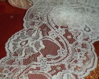 Jocelyn Rose 5 Inch Wide Ivory Flat Soft Rachelle