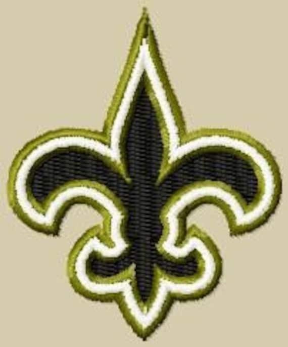 New Orleans Design: New Orleans Saints Fleur De Lis Embroidery Designs By