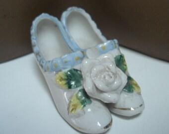 Teeny Tiny Vintage Ceramic Shoes