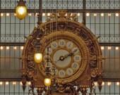 Gold Clockface no. 2, Musee D'Orsay