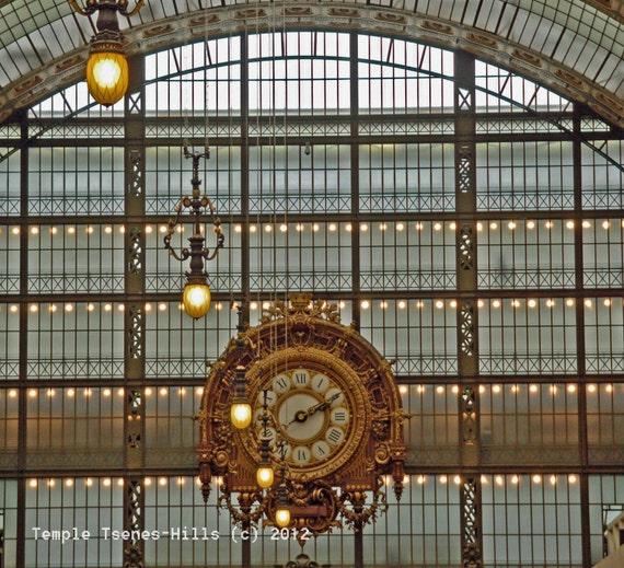Gold Clockface no. 1, Musee D'Orsay