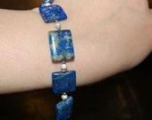 DEFINITELY NOT A SQUARE - Lapis Lazuli bracelet