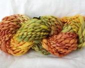 DESTASH - 64 Yards - Handspun & Handpainted/Hand-Dyed 100% Wool SUPER BULKY Weight Yarn