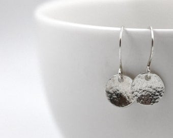 Minimal Earrings, Ready to Ship, Handmade earrings, All Sterling Silver earrings, Dainty earrings, Dangle earrings, Drop earrings