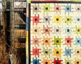 Quilt Pattern Sprockets Quilt Block Boy Quilt