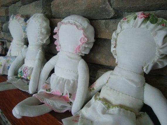 Heirloom Doll Pattern  e pattern plush toy girl doll
