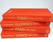Set of Paris, Rome, Florence, and Venice Books