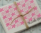 Thank You cards (set of 8) CLEARANCE