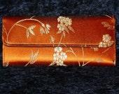 Asian Print Wallet (orange)
