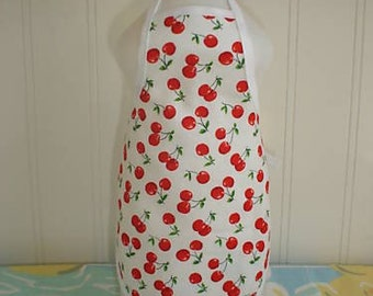 Little Cherries Dish Soap Bottle Apron