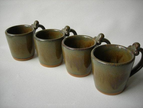 Espresso Cups Demitasse-Set of 4