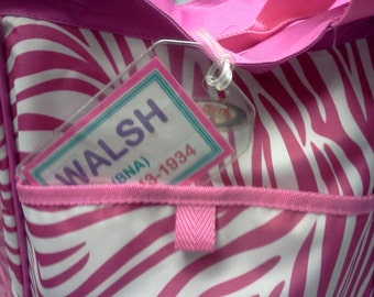 Personalized Tags for Luggage, Totes, Bags, Instrument Cases or other Items