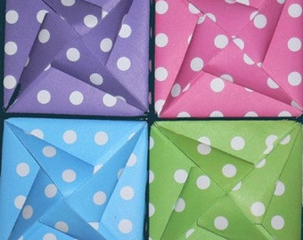 Designs by Denise - Origami Box - Small - available in 3 sizes and a variety of colors and prints.