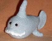 Amigurumi Shark Crochet Pattern PDF  Chompers McSharkleberry