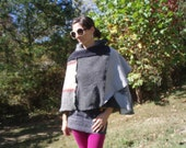 SALE   Deconstructed Shawl Ready to Rock for Fall