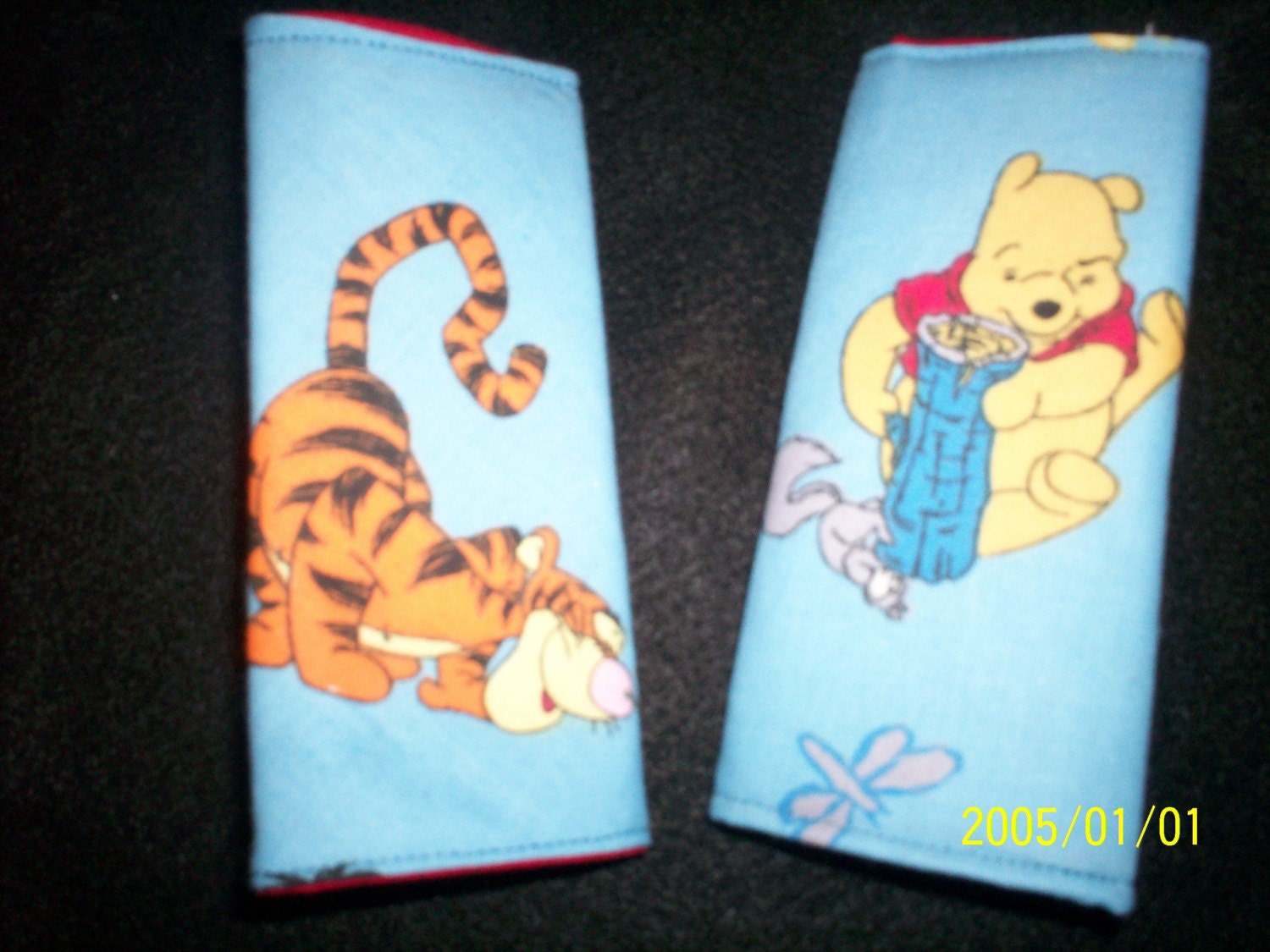 Winnie The Pooh Car Seat Strap Covers