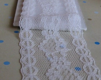 Vintage White Lace- 2 1/2 Yards