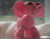 Miniature Pink Elephant - Lizzy