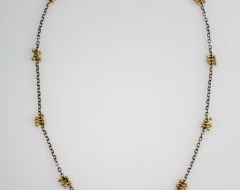 Jax Necklace w/ 18k