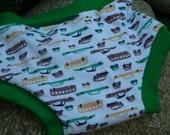 Training Pants ORGANIC Bamboo Velour Underwear....... 2/3 years..........SLEEK CARS.....for the Boys