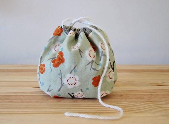 Yarn cozy - Knitting Crocheting Project Bag