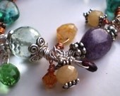 Mixed Gemstones in Veil Nebula Bracelet