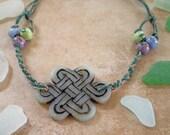 Natural Carved Celtic Necklace