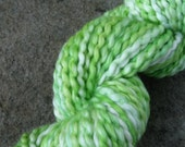 Jade Green Organic Cotton Yarn Worsted Weight HandDyed