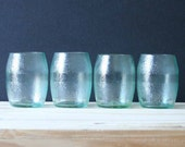Stemless Wine Glasses Made from Recycled Bottles - Aranciata